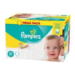 Pampers - Pack jumeaux 560 Couches New Baby Premium Protection taille 2