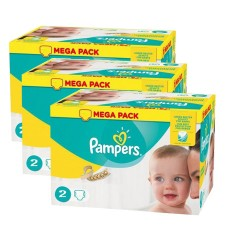 640 Couches Pampers New Baby Premium Protection taille 2 sur Les Couches