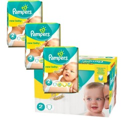 720 Couches Pampers New Baby Premium Protection taille 2 sur Les Couches