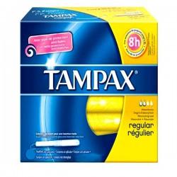 Tampax - 20 Tampons Classique taille regular avec applicateur sur Les Couches