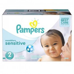 Pampers - 420 420 Couches New Baby Sensitive taille 2 sur Les Couches