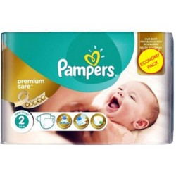 Pampers - Pack 22 Couches New Baby Premium Care taille 2 sur Les Couches