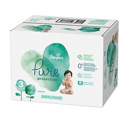 Pampers - Maxi giga pack 308 Couches Pure Protection taille 3