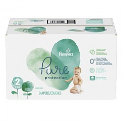 Pampers - Pack 54 Couches Pure Protection taille 2