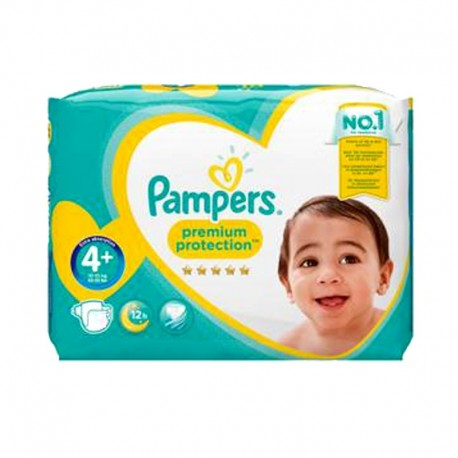 Pampers - Pack 21 Couches New Baby Premium Protection taille 4+ sur Les Couches