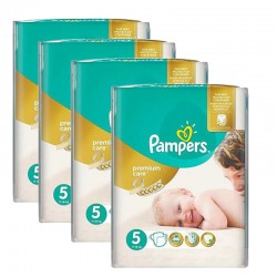 Pampers - Maxi giga pack 330 Couches Premium Care taille 5 sur Les Couches