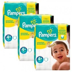 Pampers - Giga pack 294 Couches New Baby Premium Protection taille 4+