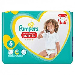 Pampers - Pack 37 Couches Premium Protection Pants taille 6 sur Les Couches