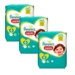 Pampers - Mega pack 111 Couches Premium Protection Pants taille 6 sur Les Couches