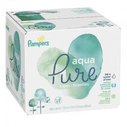 Pampers - Pack jumeaux 960 Lingettes Bébés Aqua Pure sur Les Couches
