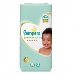 Pampers - Pack 20 Couches New Baby Premium Care taille 4 sur Les Couches