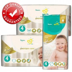 Pampers - Mega pack 120 Couches New Baby Premium Care taille 4