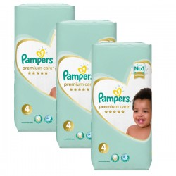 Pampers - Maxi giga pack 340 Couches New Baby Premium Care taille 4 sur Les Couches