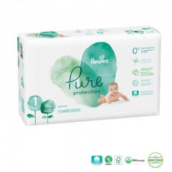 Pack 50 Couches Pampers Pure Protection sur Les Couches