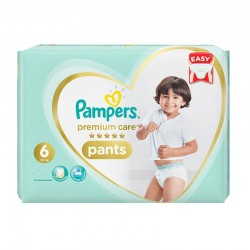 Pampers - Pack 36 Couches Premium Care Pants taille 6 sur Les Couches