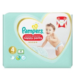 Pampers - Pack 76 Couches Premium Protection Pants taille 4 sur Les Couches